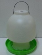 AVICO BALL TYPE WATERER 6.5 L. (GREEN & WHITE) POULTRY