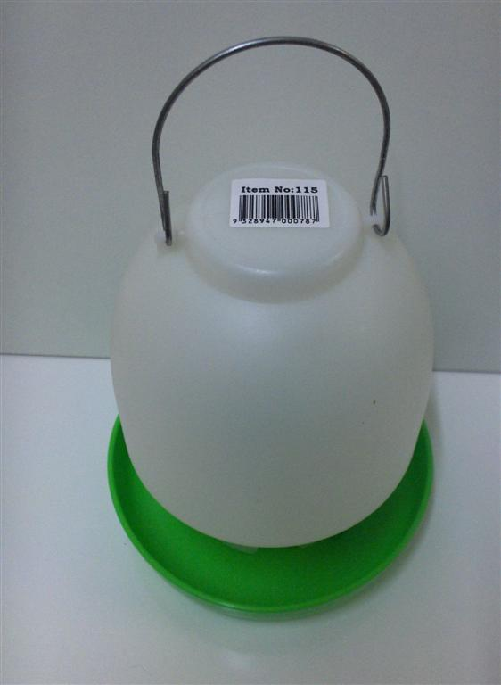 AVICO BALL TYPE WATERER 2.5 L. (GREEN & WHITE) POULTRY