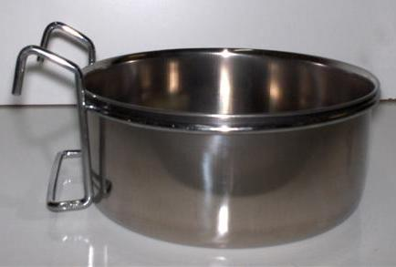 S/STEEL COOP-CUP USING HOOKS, 0.56L., 4-7/8""