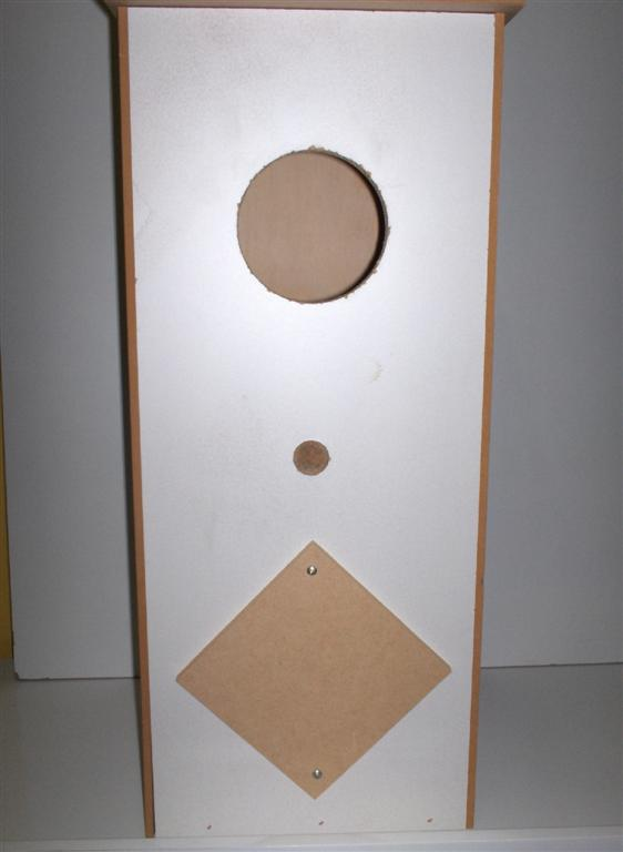 WOODEN TALL PARROT NEST BOX 60CM WITH INSPECTION HOLE