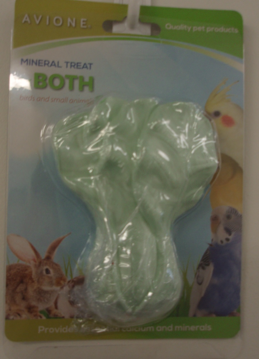 CABBAGE MINERAL TREAT 11cmH x 8cmW FOR RABBITS,GUINEA PIG,RATS