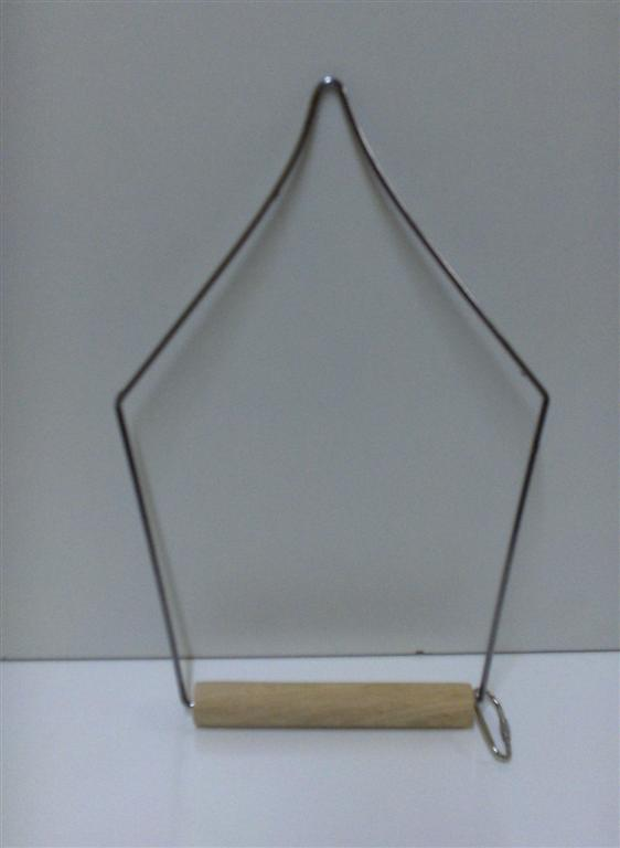 WOODEN SWING PERCH, TRIANGLE, 12.5X25cmH