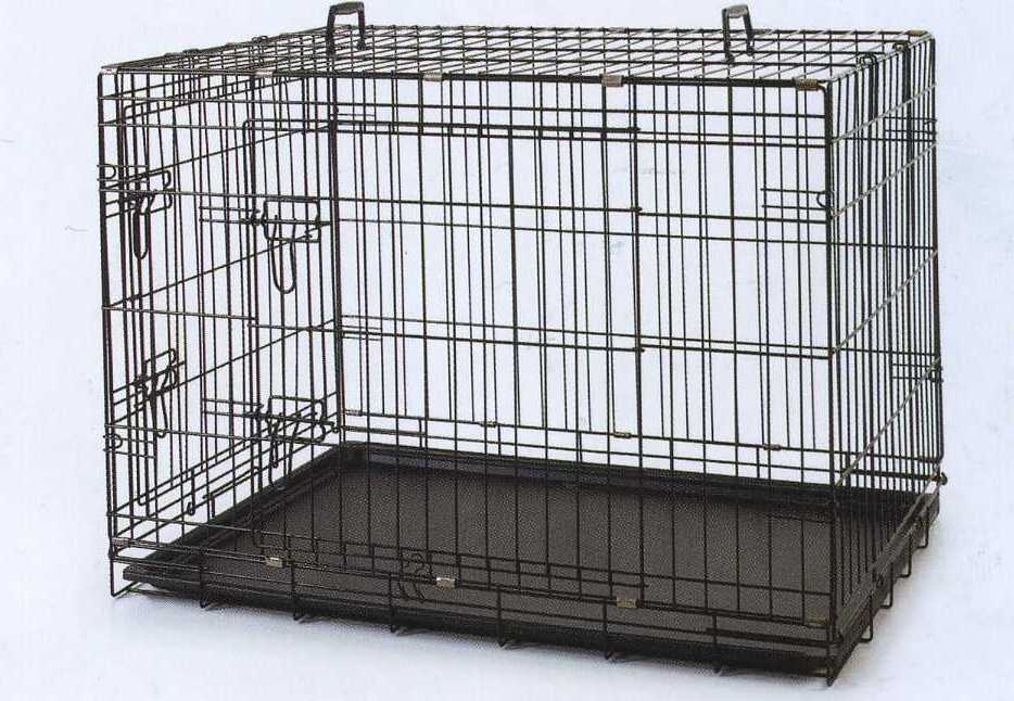 WIRE CRATE/PLASTIC TRAY 120X77X90CM