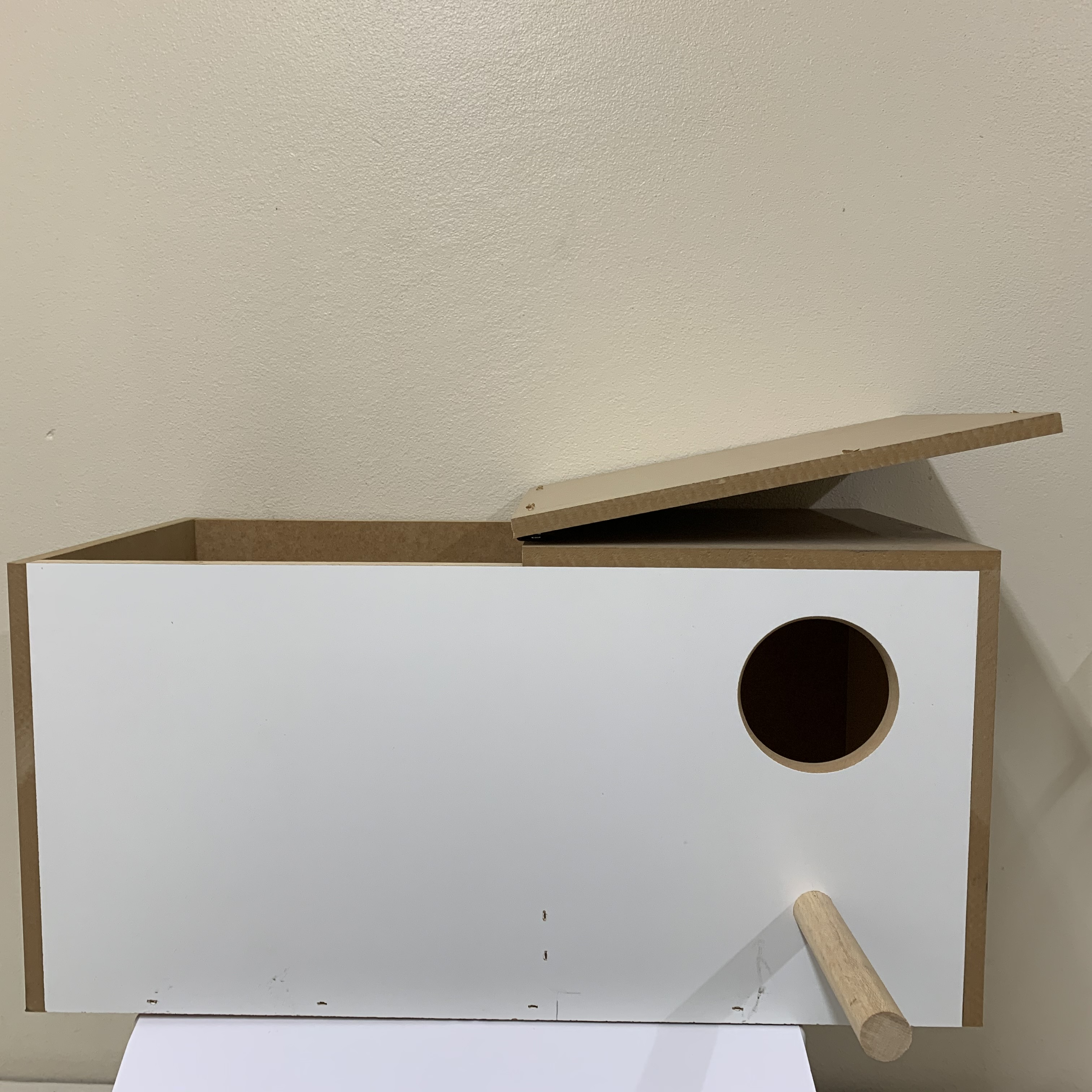 Wooden Nest Eclectus breeding box