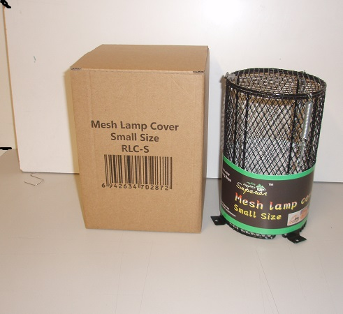 SMALL BLACK MESH LIGHT COVER 11.5cm x 18cm
