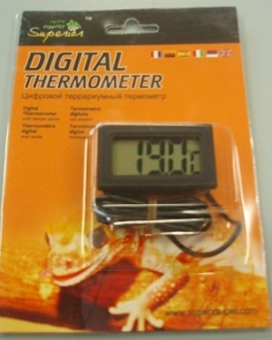 DIGITAL THERMOMETER W/REMOTE SENSOR S/S THICK PROBE