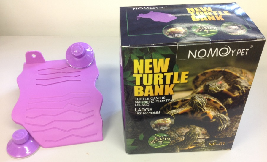 LARGE PURPLE PLASTIC TURTLE DECK