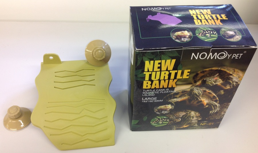 LARGE OLIVE GREEN PLASTIC TURTLE DECK