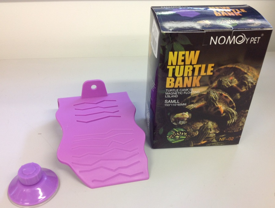 SMALL PURPLE PLASTIC TURTLE DECK