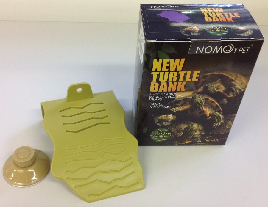 SMALL OLIVE GREEN PLASTIC TURTLE DECK
