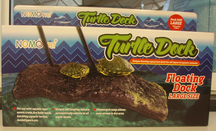 LARGE FLOATING TURTLE DOCK 38cmL x 17cmW