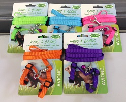 SMALL FERRET NYLON HARNESS & LEAD SET, CARDED