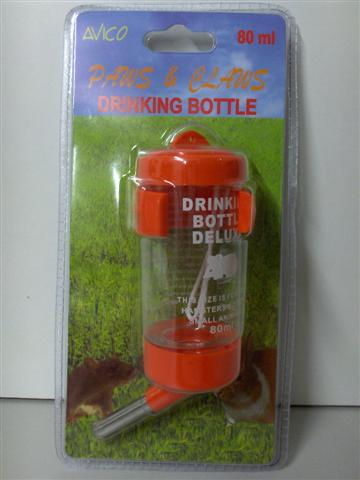 SMALL ANIMAL WATER BOTTLE 80ml