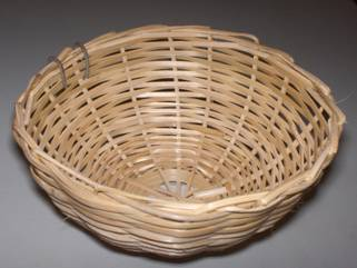 CANARY PAN (RATTAN) 12X8CM