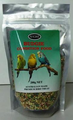 AVIONE BUDGIE CONDITIONING FOOD 200G